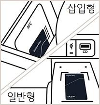 NFC 카드 키 무선충전기 거치